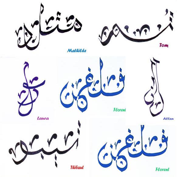 Calligraphie arabe traduction - Calligraphie arabe tatouage ...